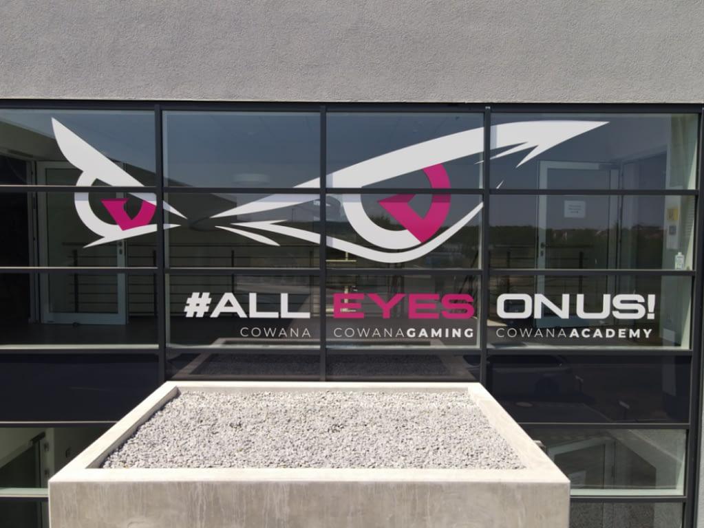 Cowana Gaming Entrance